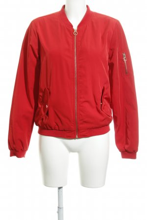 Only Giacca bomber rosso-oro stile casual