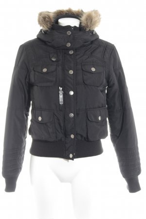 Only Bomberjacke schwarz Casual-Look
