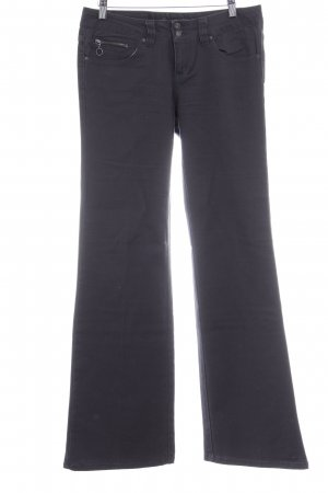 Only Jeans bootcut gris anthracite style décontracté