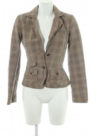 Only Boyfriend Blazer beige-light brown check pattern dandy style