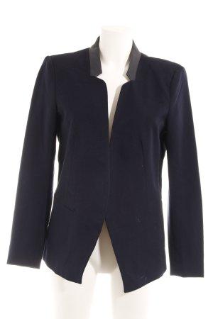 Only Blazer boyfriend noir-bleu foncé style classique