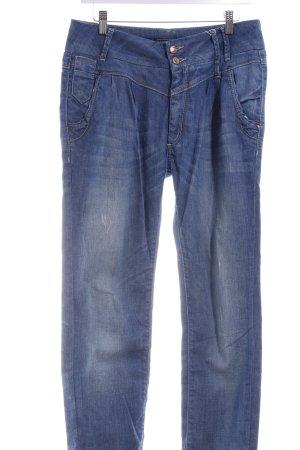 Only Boyfriendjeans blau Casual-Look