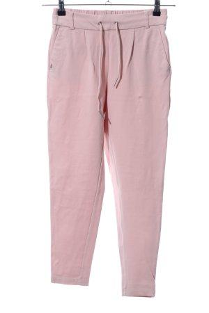 Only Pantalón de pinza rosa look casual