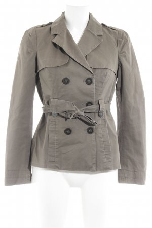 Only Pea Jacket khaki simple style