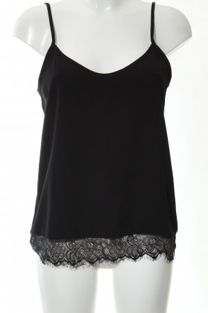 Only Camisole schwarz Business-Look