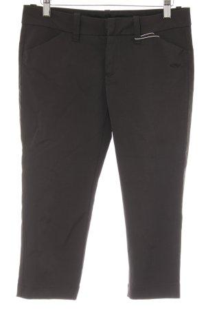 Only Pantalon capri noir style décontracté