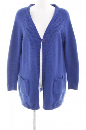 Only Cardigan blau Casual-Look