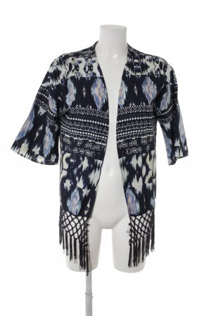 Only Cardigan abstraktes Muster Boho-Look