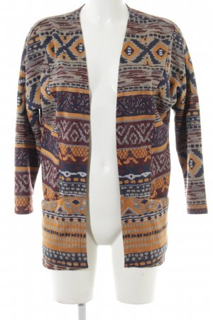 Only Cardigan Aztekenmuster Boho-Look
