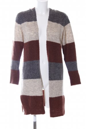 Only Cardigan Streifenmuster Casual-Look