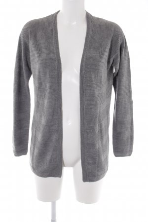 Only Cardigan grau Casual-Look