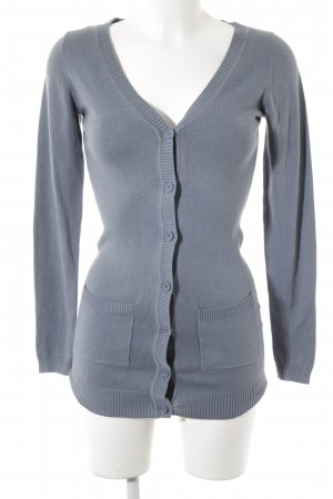 Only Cardigan graublau Casual-Look