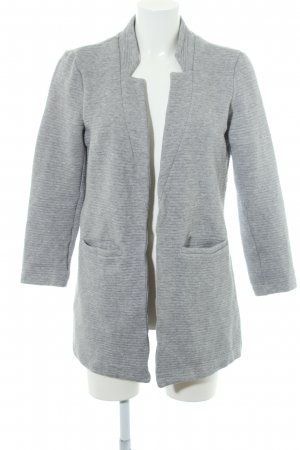 Only Cardigan hellgrau-grau Casual-Look