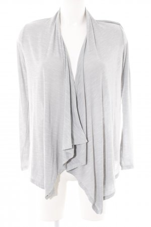 Only Cardigan hellgrau meliert Casual-Look