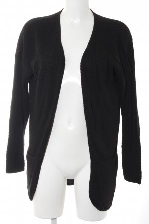 Only Cardigan schwarz Street-Fashion-Look