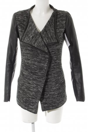 Only Cardigan schwarz-weiß meliert Casual-Look