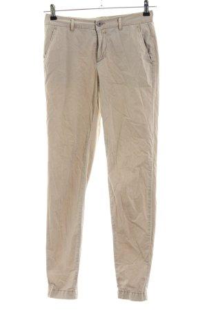 Only Pantalone cargo bianco sporco stile semplice