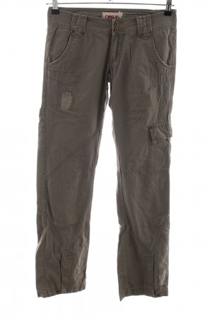 Only Cargo Pants bronze-colored casual look