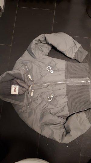 Only Veste d'hiver argenté tissu mixte