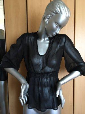 Only Slip-over blouse zwart Polyester