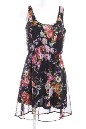 Only Chiffon Dress flower pattern casual look