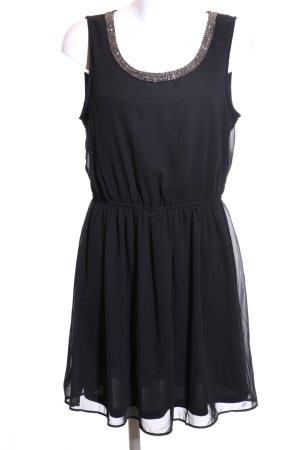 Only Chiffon Dress black elegant