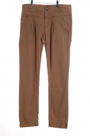 Only Pantalone chino marrone stile casual