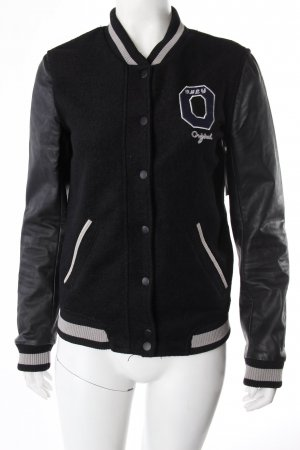 Only Collegejacke Woll-Optik