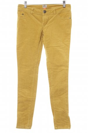 Only Cordhose dunkelgelb Casual-Look