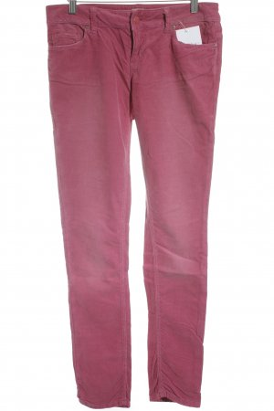 Only Cordhose magenta Casual-Look