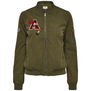 Only Blouson aviateur bronze-brun