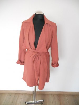 ONLY Damen Mantel Onlnew Withness Trenchcoat Gr. 36 = 38 Pink