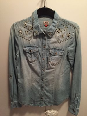 Only Denim Jeansbluse