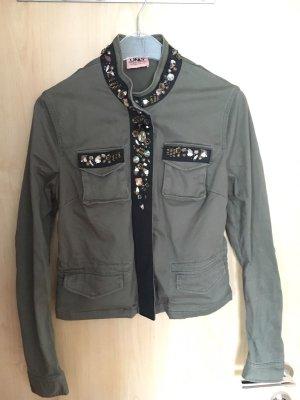 ONLY - dunkelgrüne Jacke, Größe 40, Gebraucht aber in gutem Zustand