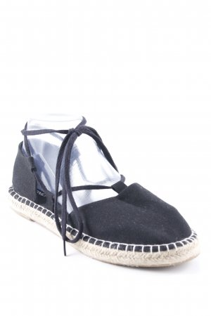 Only Espadrille Sandals black-oatmeal casual look