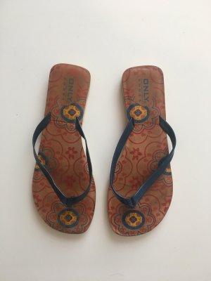 Only Flip Flops Sandalen Muster Orientalisch Ethno Urlaub 36 Sommer