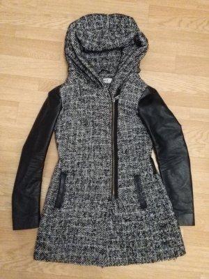 ONLY grau/schwarz  Damenmantel XS