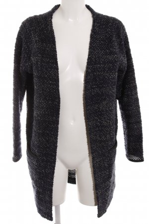 Only Grobstrickjacke dunkelblau Casual-Look