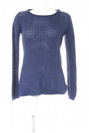 Only Grobstrickpullover blau Casual-Look
