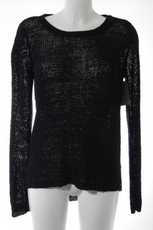 Only Grobstrickpullover dunkelblau Casual-Look