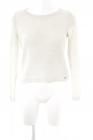 Only Grobstrickpullover hellbeige Casual-Look