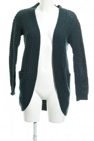 Only Cardigan all'uncinetto petrolio stile casual