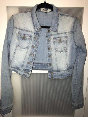 Only Veste en jean bleu azur-bleu acier