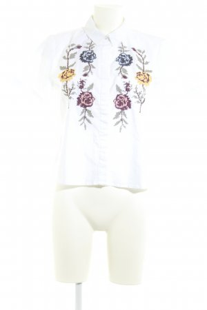 Only Hemd-Bluse Blumenmuster Casual-Look