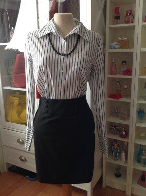 Only Hemd schwarz -weiß Gr.38