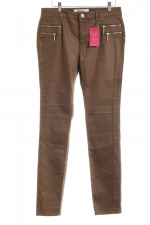 Only High-Waist Hose braun Casual-Look