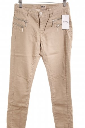 Only High-Waist Hose camel Webmuster Casual-Look