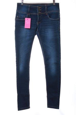 """Only Jeans taille haute """"anemone soft jeans pim201 noos"""" bleu foncé"""