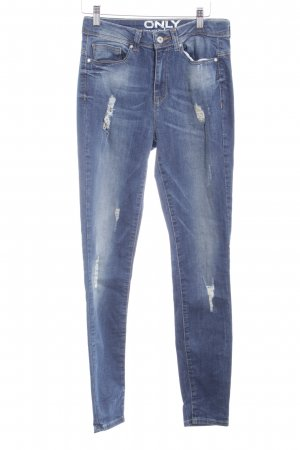"""Only High Waist Jeans """"Coral High Skinny Jeans"""" blau"""