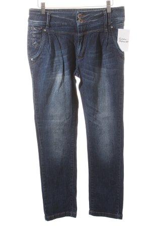 Only High Waist Jeans dunkelblau Casual-Look